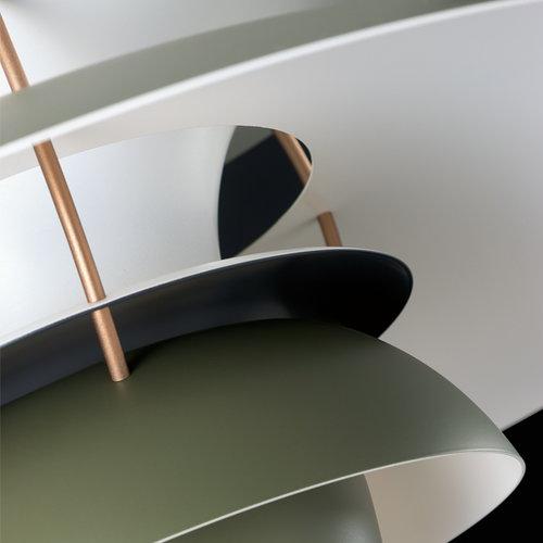 Louis Poulsen PH 5 Contemporary pendant, army green