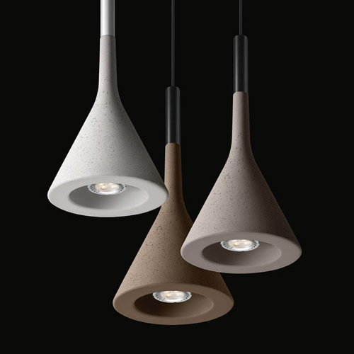 Foscarini Aplomb pendant lamp LED, grey