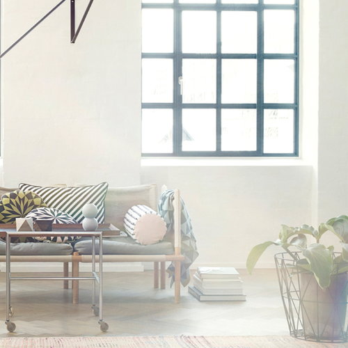 Ferm Living Wire basket, mint