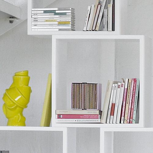 Muuto Stacked shelf module medium, white