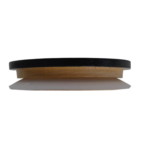 Design Letters Wooden cap, black