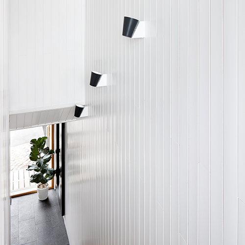Lundia Liekki wall lamp, white