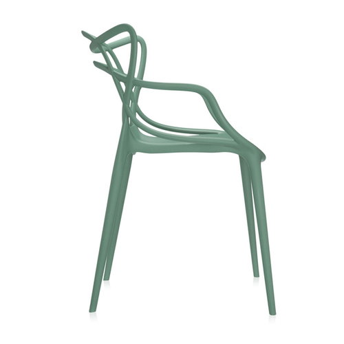 Kartell Masters chair, sage green