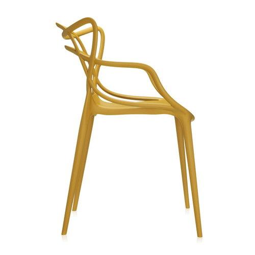 Kartell Masters chair, mustard