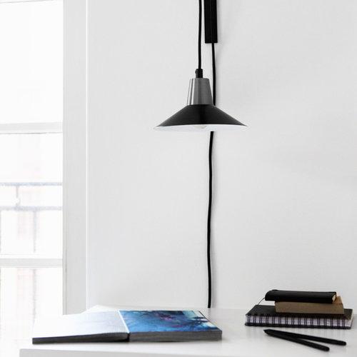 Studio Joanna Laajisto Edit wall lamp, black-steel