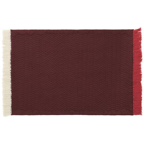 Normann Copenhagen Trace matto, roosa/hiekka