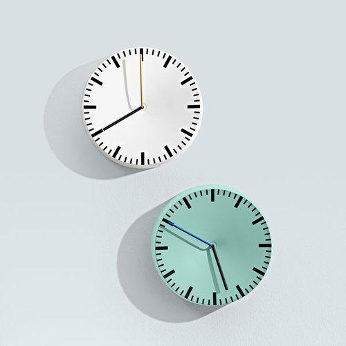 Hay Analog wall clock, white