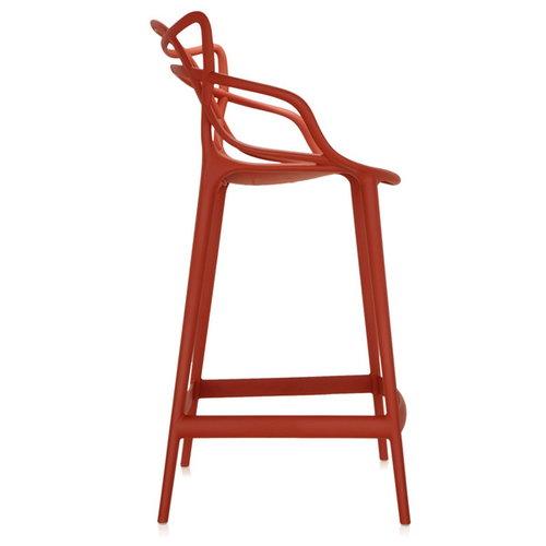 Kartell Masters stool, rust