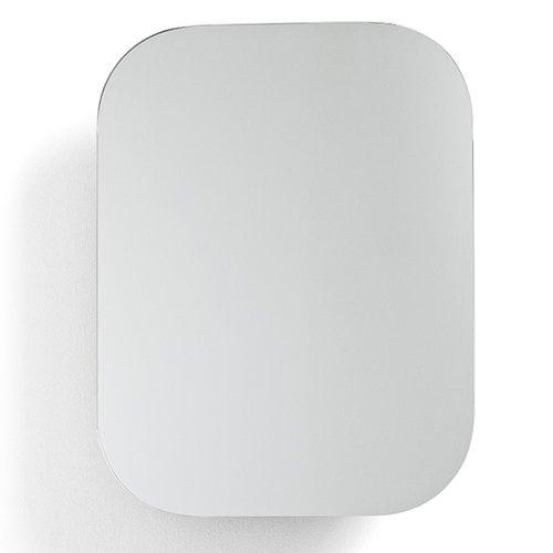 Menu Cage mirror, white