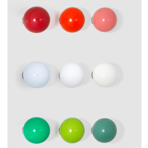 Vitra Coat Dots, set of 3, white