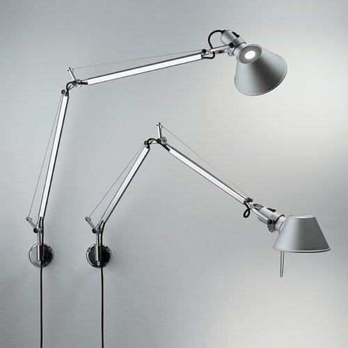 Artemide Tolomeo Mini Parete wall lamp, black