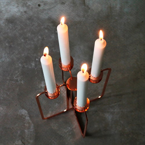 Be&liv Quartet kynttelikk�, kupari