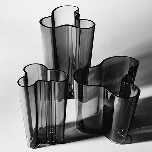 Iittala Aalto vase 251mm, dark grey