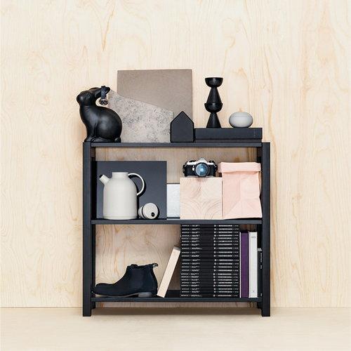 Lundia Open shelf, low, black