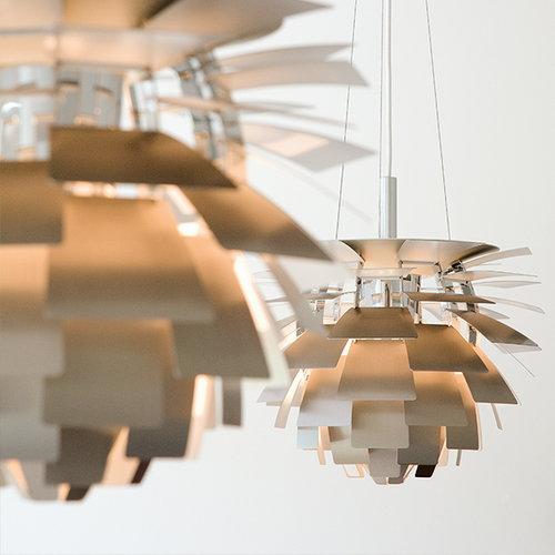 Louis Poulsen PH Artichoke, 600 mm, polished stainless steel