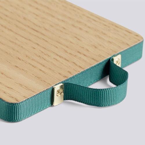 Hay Ruban rectangular mirror, S, green