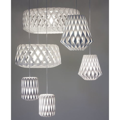 Showroom Finland Pilke 18 pendant, white