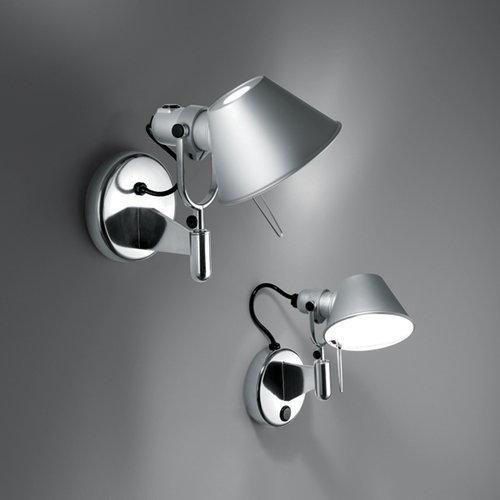 Artemide Tolomeo Faretto wall lamp, aluminium