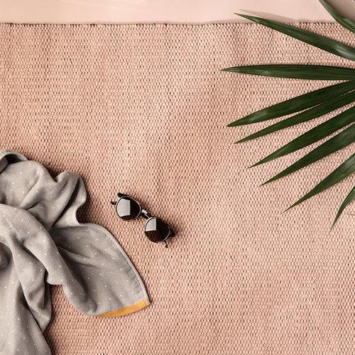 Ferm Living Sento bath towel, rose