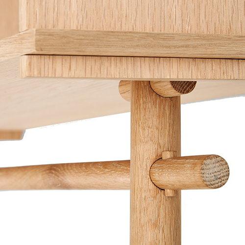 Woud T�jbox coat rack, large, oak