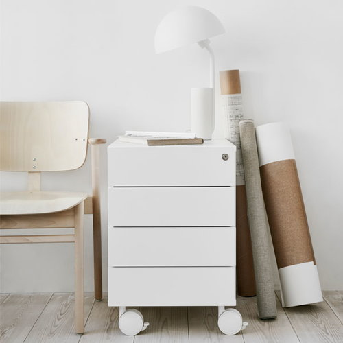 Adi 24/7 drawer unit, white