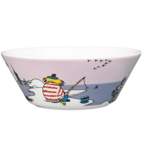 Arabia Moomin bowl, Tooticky, purple