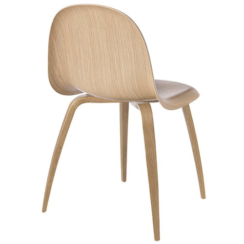 Gubi Gubi 5 chair, oak