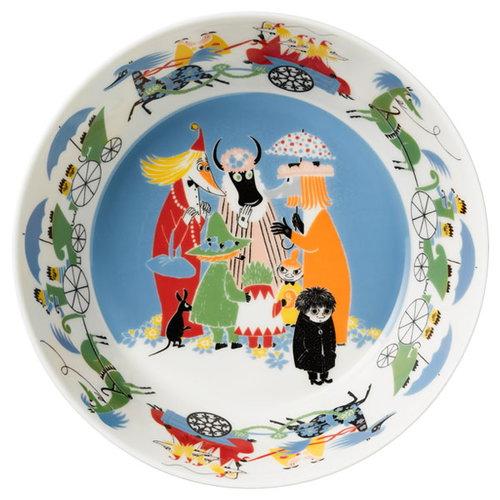 Arabia Moomin serving bowl, Friendship