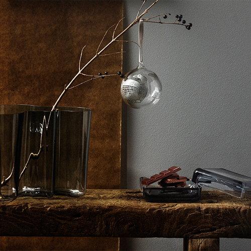 Iittala Aalto vase 120mm, dark grey
