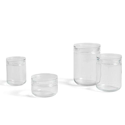 Hay Japanese glass jar, L