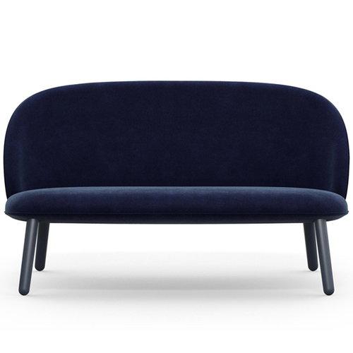 Normann Copenhagen Ace sofa, velour, dark blue