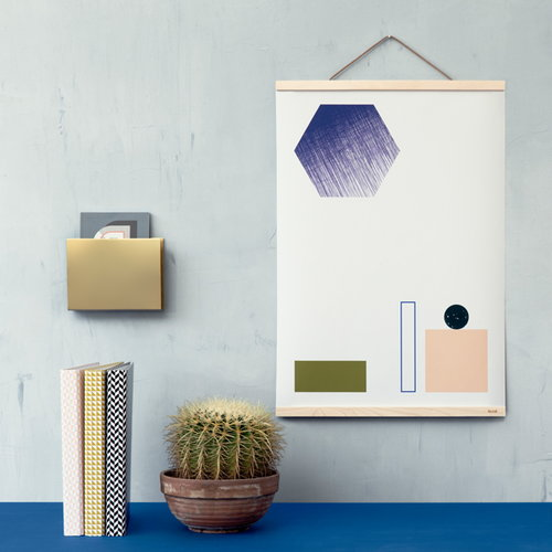 Ferm Living Wooden frame large, maple