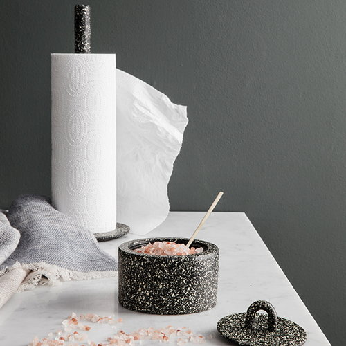Ferm Living Buckle paper towel holder, spotted