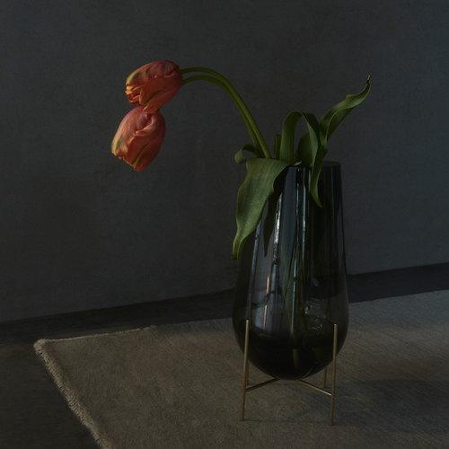 Menu �chasse vase, medium, smoke