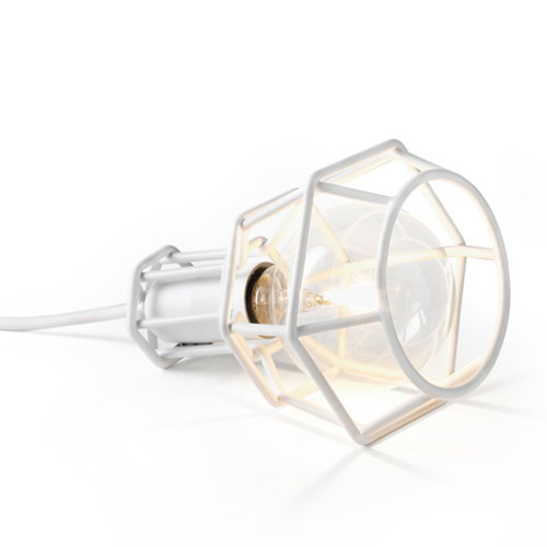 Design House Stockholm Lampada Work Lamp, bianca