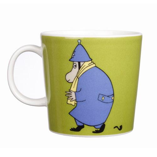 Arabia Moomin mug Police, olive