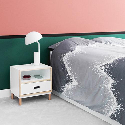 Normann Copenhagen Kabino bedside table, white
