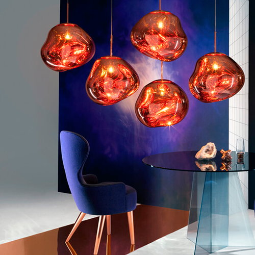 Tom Dixon Melt pendant, copper