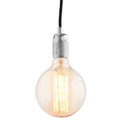 Frama E27 lampunjohto, ter�s-musta
