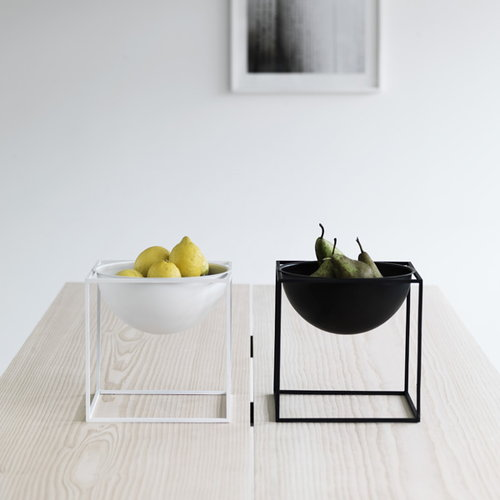 By Lassen Kubus Bowl, large, black