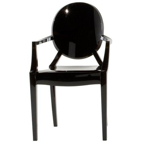 Kartell Louis Ghost tuoli, musta