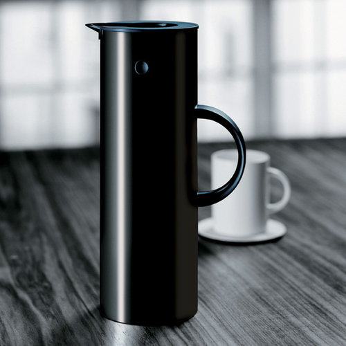 Stelton EM77 termoskannu 1,0 L, musta