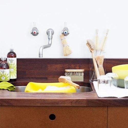 Iris Hantverk Dish brush with handle