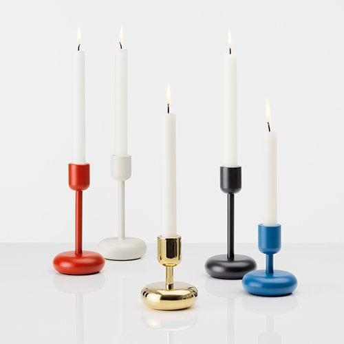 Iittala Nappula candleholder 183 mm, kyoto red