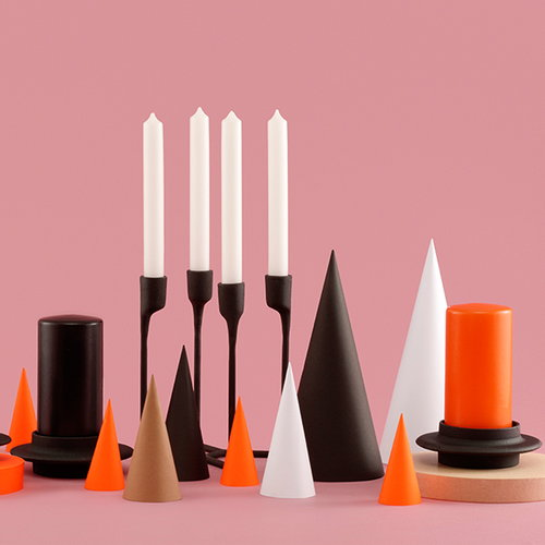 Normann Copenhagen Heima Block candle holder