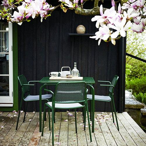 Skagerak Mira tuoli k�sinojilla, vihre�