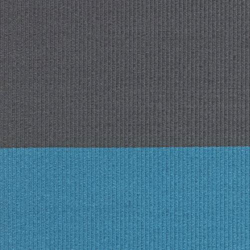 Woodnotes Fourways matto, pohjattu, turkoosi-graf.harmaa