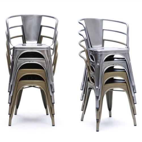 Tolix A56 chair, black
