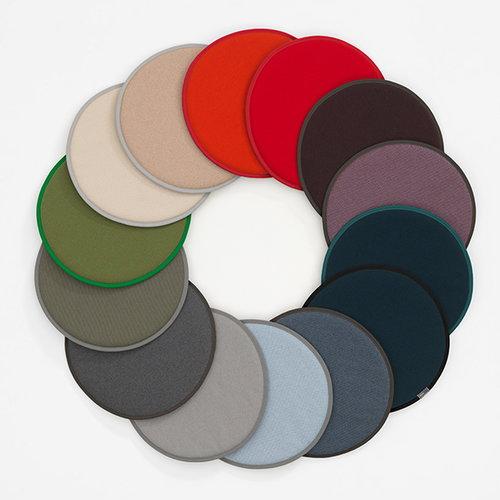 Vitra Seat Dot cushion, dark grey - marron
