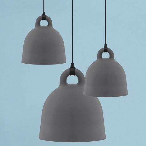 Normann Copenhagen Bell valaisin L, harmaa